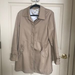 Max Studio Khaki Jacket - EUC Large